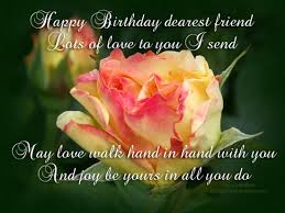 happy birthday dearest friend free flowers ecards greeting cards