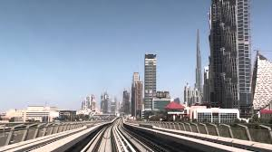 dubai uae metro burj khalifa dubai mall station to noor