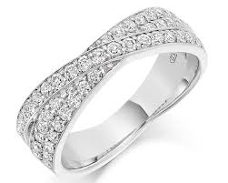 pave set rings images 0 70ct layered pav set wedding band wr2039 bespoke rings jpg