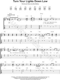 lights down low guitar chords bob marley turn your lights down low guitar tab in g major