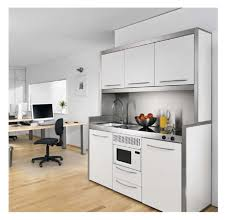 cuisine compacte design modern kitchen for small apartment in interior decorating