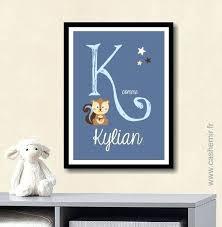 lettre porte chambre bébé lettres pour chambre bebe lettres pracnom en bois massif et tissu