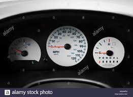 2007 dodge grand caravan cv in silver speedometer tachometer