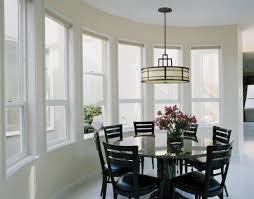 dining room glamorous small dining room idea with large bay