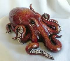 Octopus Home Sculptivated Art