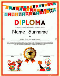 free preschool graduation diploma templates template update234