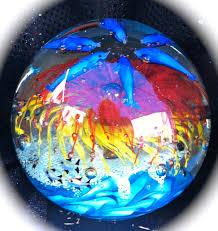 Garden Gazing Globes Glow In The Dark Hand Blown Glass Glowinthedarkglass U0027s Blog