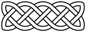 file celtic knot basic linear svg wikimedia commons