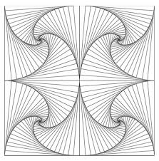 the awesome free printable geometric coloring pages with regard to