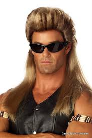 Halloween Costumes Wigs 25 Mullet Wig Ideas White Trash Costume