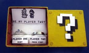 nerdy wedding rings 20 geeky engagement rings and boxes no geeky can refuse