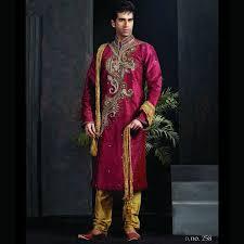 designer trendy indian wedding kurta with churidar groom dresses