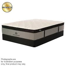 kingsdown oakwood arbor extra firm eurotop mattress u2013 mattress