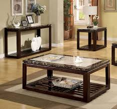 Glass Living Room Table Sets End Tables Designs Appealing Looked In Brown Combined To