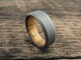 epic wedding band richter scale rings epic men s wood and metal wedding bands and more