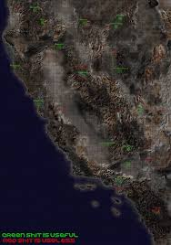 Fallout 2 Map by Just Gonna Leave This Here