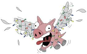 flying pig with lights by hazuhazuheavn on deviantart