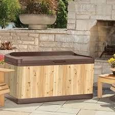 keter brushwood garden storage box new innovative composite