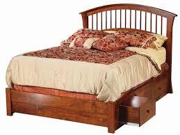 Richmond Bed Frame Amish Richmond Storage Bed