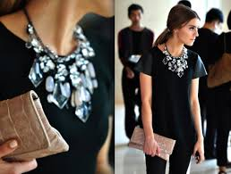 wear statement necklace images How to wear a statement necklace la necklace jpg