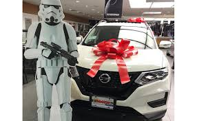 nissan canada office of the president nissan dealers feel the force of rogue campaign