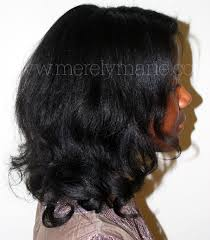 roller set relaxed hair hair heat free techniques to create curls on straighter or less