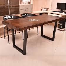 wood and wrought iron table wood and wrought iron furniture lin hung american retro wood dining