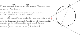 Interior Angles In A Circle Day 7 Lines Intersecting Inside Or Outside A Circle