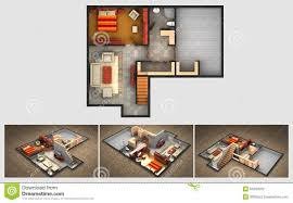 House Plans With Finished Basements Finished Basement Royalty Free Stock Photography Image 18146567