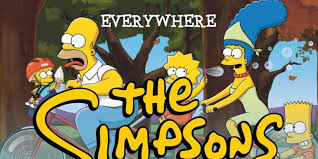 the simpsons this infographic shows you everywhere the simpsons have traveled