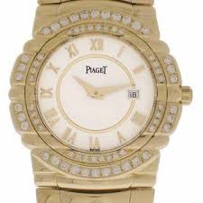 piaget tanagra women s 18k yellow gold diamond piaget tanagra ref 16033 m 401