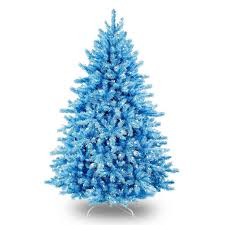 christmas small white christmas trees artificial with lights