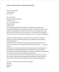 sample marketing cover letter affiliate marketing manager cover