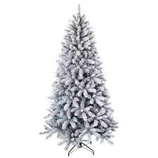 time 7 5 pre lit winter pine artificial