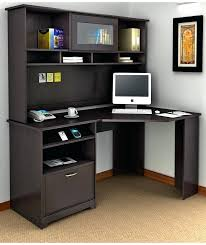 Computer Desk With Cabinets Corner Desk With Storage Bikepool Co
