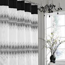 graphic shower curtain get in touch with nature without having to