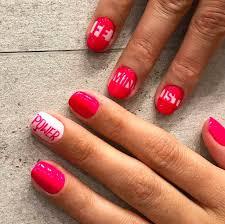 feminism nail art ideas popsugar beauty