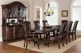 Costco Dining Room Set Exciting Brown Rectangle Antique Wood Costco Dining Table