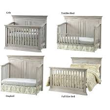 Baby Convertible Crib Sets Grey Baby Cribs Grey Crib And Dresser Set Nursery Furniture