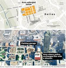 Dallas Crime Map by Five Dallas Police Officers Were Killed By A Lone Attacker