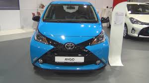 aygo toyota aygo 1 0 vvt i 69 hp x cite 5mt 2016 exterior and