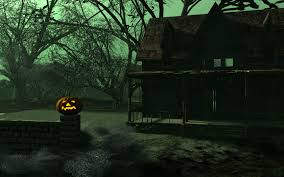 animated halloween desktop wallpaper free animated haunted house wallpaper hdq animated haunted house