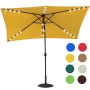 Led Patio Umbrella by Outdoor Patio 10 U0027 Umbrellas