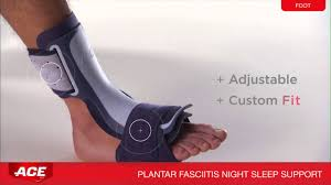 Planters Fasciitis Brace by Ace Tm Brand Plantar Fasciitis Sleep Support Cat No 209616