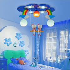 modern cartoon ceiling light kids bedroom bulb light fittings led