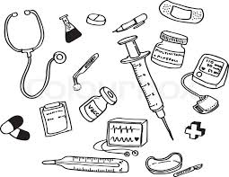 Doctor Tools Coloring Pages Community Helpers Pinterest Tools Coloring Page