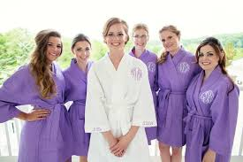 waffle robes for bridesmaids jersey bridesmaid robes monogrammed gifts wedding robes