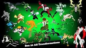 ben 10 alien force ultimate alien transformations updated