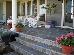 stone over concrete porch welcome home quinju com