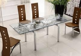 tavoli per sala da pranzo moderni sala da pranzo vetro moderno tavoli design vetro tavoli da